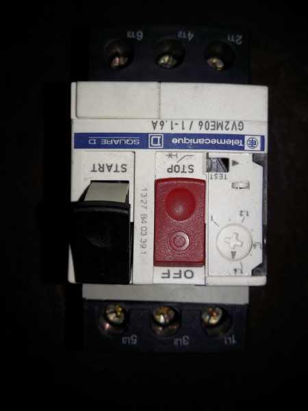Guarda Motor De 1 A 1,6 A Telemecanique Nuevo
