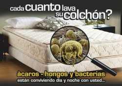 LIMPIEZA Y DESINFECCION DE COLCHONES