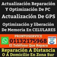 Actualizacion Reparacion Y Optimizacion De PC GPS Y Celulares