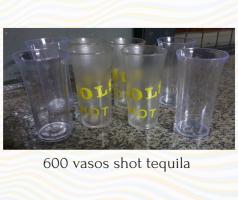 Vasos tequila chupito POR MAYOR