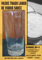 Vasos de vidrio 500cc
